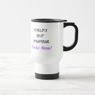 WORLD'S BEST CHAUFFEUR - travel mug
