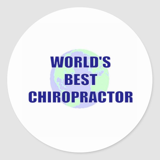 World's Best Chiropractor Sticker