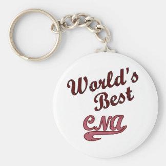 World's Best CNA Keychain