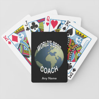 World's Best Coach Bicycle Playing Cards