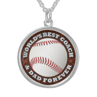 World's Best Coach & Dad 1 Necklace