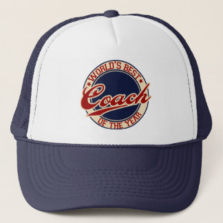 World's Best Coach of the Year Trucker Hat