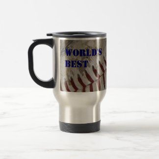 """World's Best Coach"" Travel Coffee Mug"