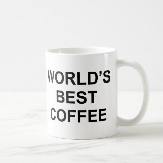 World's Best Coffee Coffee Mug
