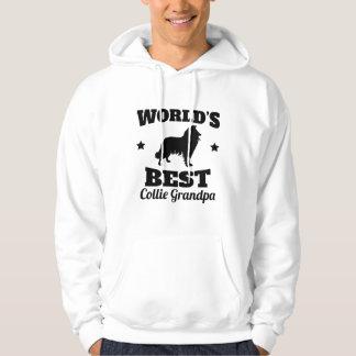 Worlds Best Collie Grandpa Hoodie