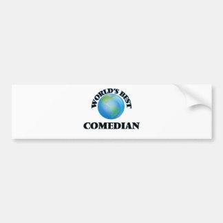 World's Best Comedian Bumper Stickers