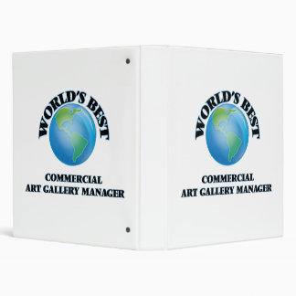 World's Best Commercial Art Gallery Manager Vinyl Binders