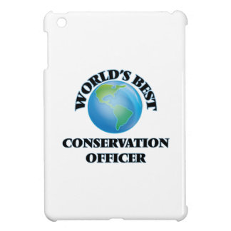 World's Best Conservation Officer iPad Mini Covers