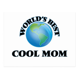 World's Best Cool Mom Post Card
