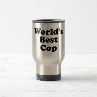 World's Best Cop Travel Mug