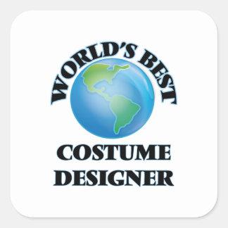 World's Best Costume Designer Stickers