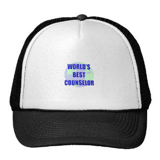 World's Best Counselor Mesh Hat