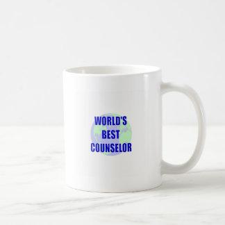 World's Best Counselor Coffee Mugs