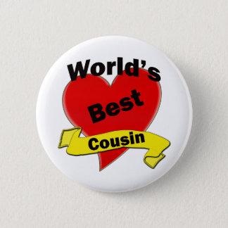 World's Best Cousin 2 Inch Round Button