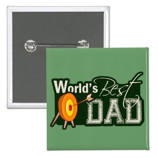 World's Best Dad; Archery Button