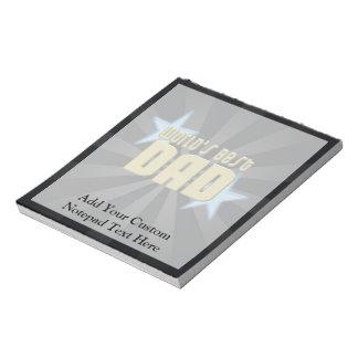 World's Best Dad, Blue Stars Notepad