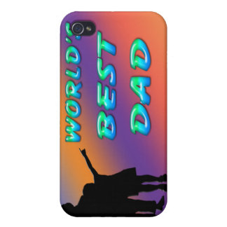World's Best Dad  Case For iPhone 4