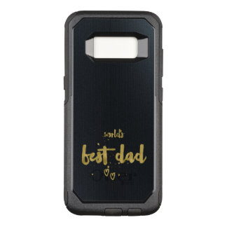 World's Best Dad | Elegant Gift OtterBox Commuter Samsung Galaxy S8 Case