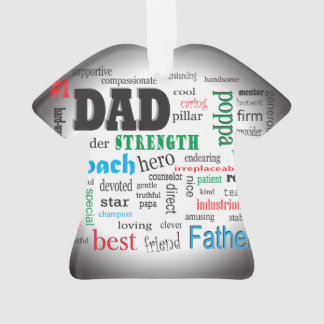 Worlds Best Dad Father Word Cloud