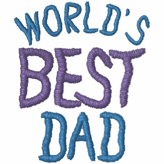 World's Best Dad Father's Day Classic Polo Shirt