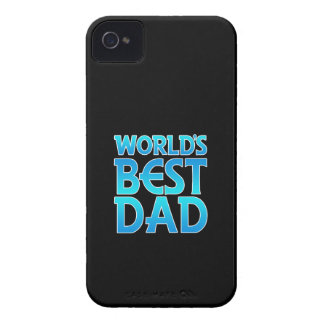 World's Best Dad iPhone 4/4S Case-Mate B.T. iPhone 4 Cases