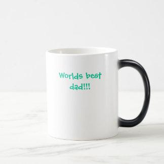 Worlds best dad!!! magic mug