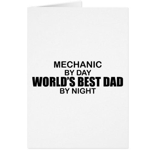 World's Best Dad - Mechanic Cards
