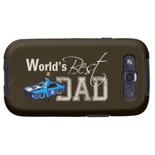 World's Best Dad; Racing Galaxy S3 Cover