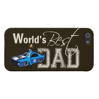 World's Best Dad; Racing iPhone 5 Case