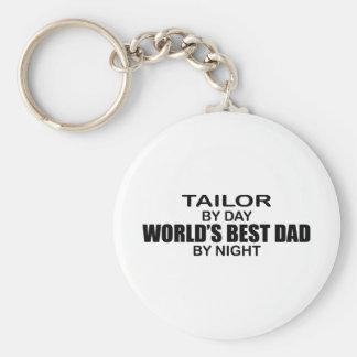 World's Best Dad - Tailor Basic Round Button Keychain
