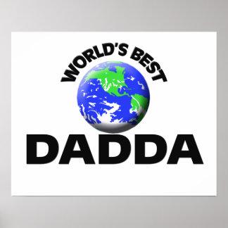World's Best Dadda Poster