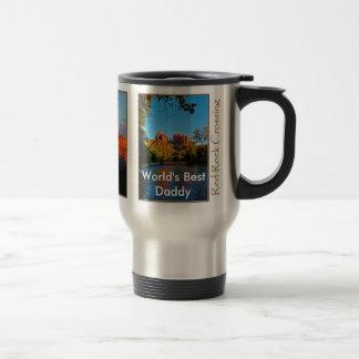 World's Best Daddy on Red Rock Crossing Mug