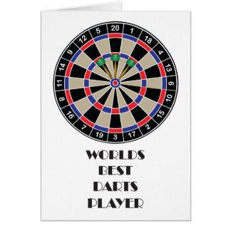 Worlds Best Darts Player Card