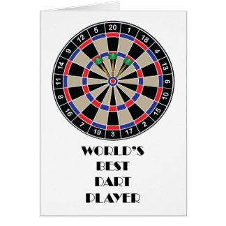 World's Best Darts Player Card