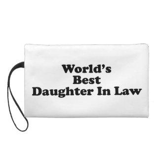 World's Best Daughter in Law Wristlet