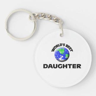 World's Best Daughter Acrylic Keychains