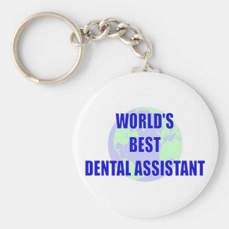 World's Best Dental Assistant Keychain