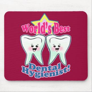 Worlds Best Dental Hygienist Mouse Pad