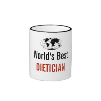 World's best Dietician Ringer Mug