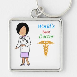 World's Best Doctor Keychain