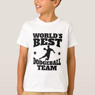 Worlds Best Dodgeball Team T-Shirt