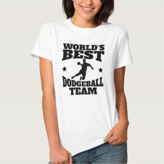 Worlds Best Dodgeball Team T Shirts
