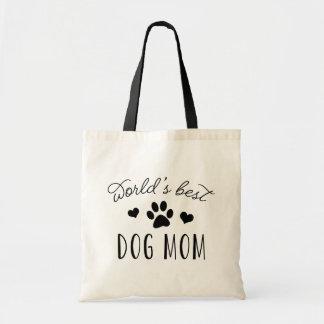 World's Best Dog Mom Tote Bag
