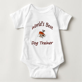 World's Best Dog Trainer Baby Bodysuit