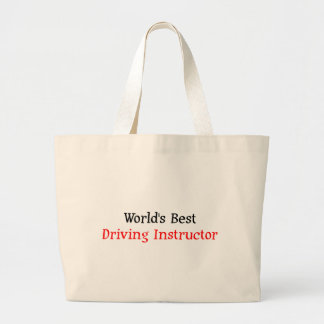 World's Best Driving Instructor Tote Bags