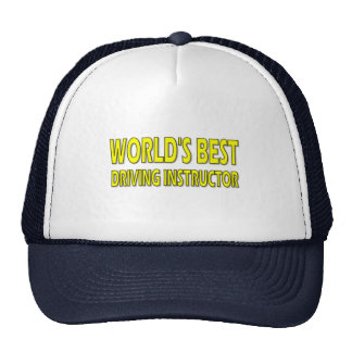 World's Best Driving Instructor Hats