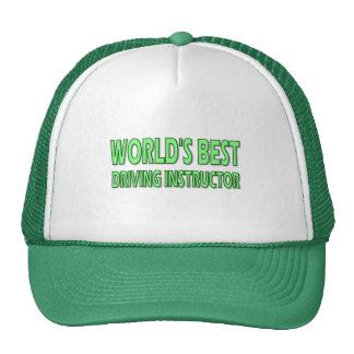 World's Best Driving Instructor Hat