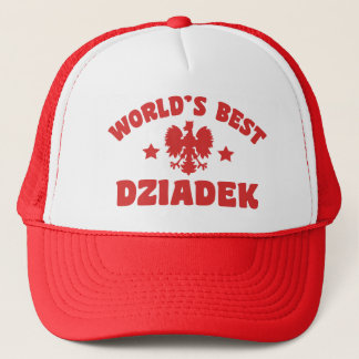 World's Best Dziadek Trucker Hat