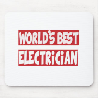 World's Best Electrician. Mouse Pad