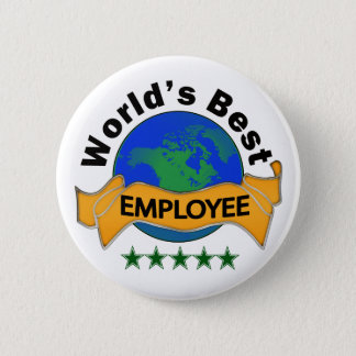 World's Best Employee 2 Inch Round Button